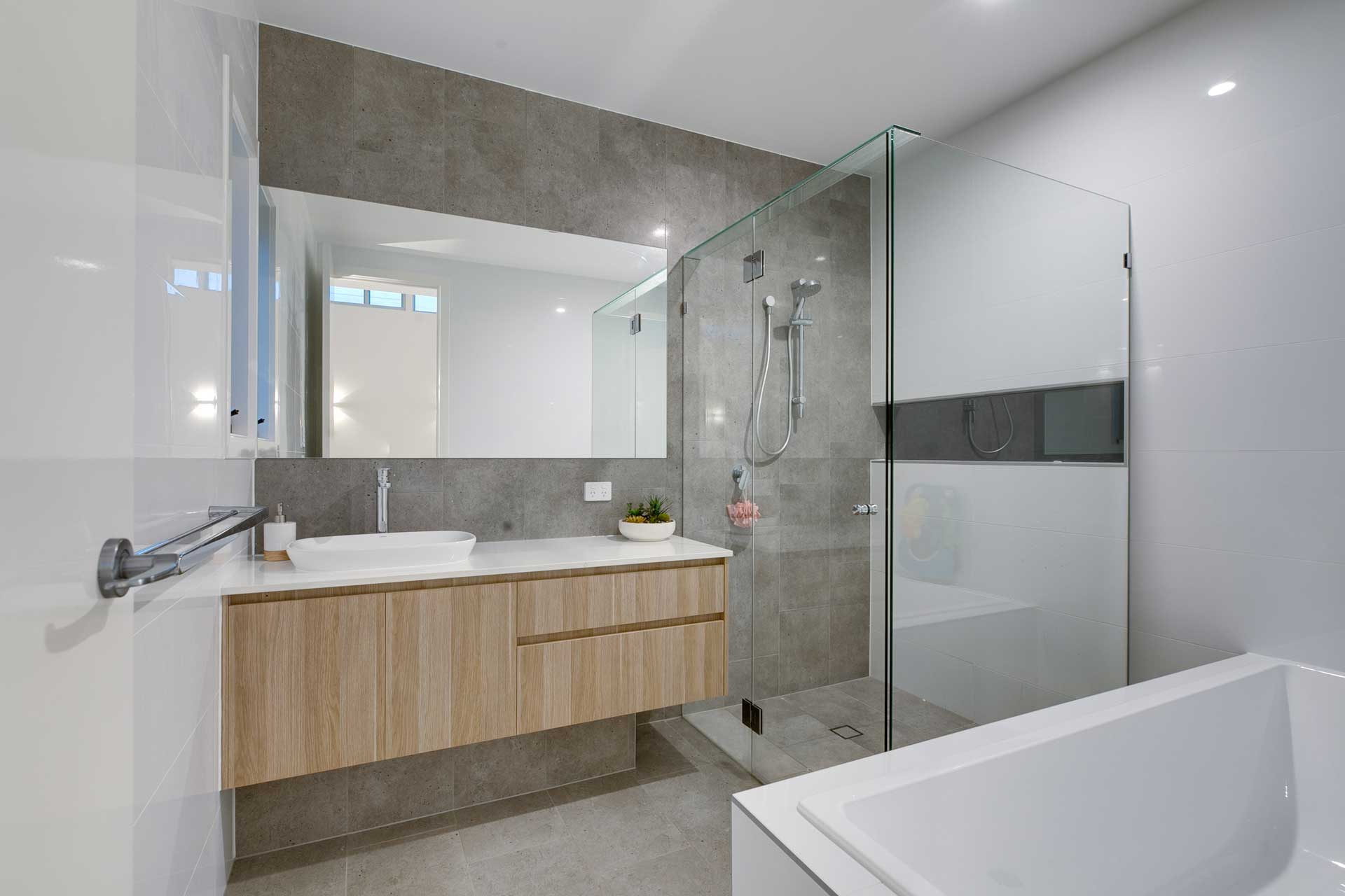 Custom Architectural Home - Bathroom