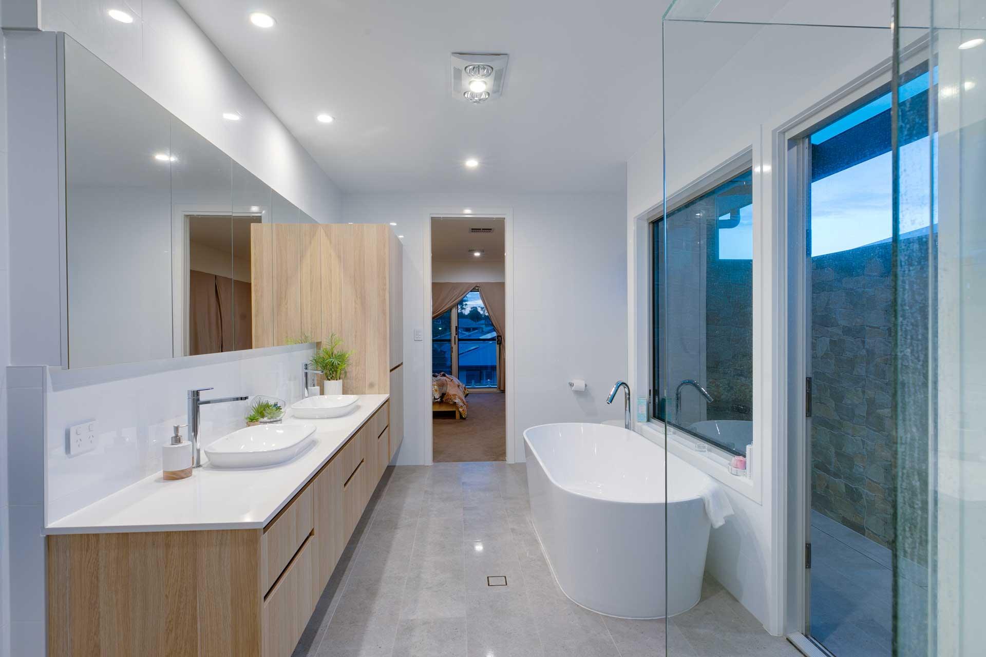 Custom Architectural Home - Ensuite