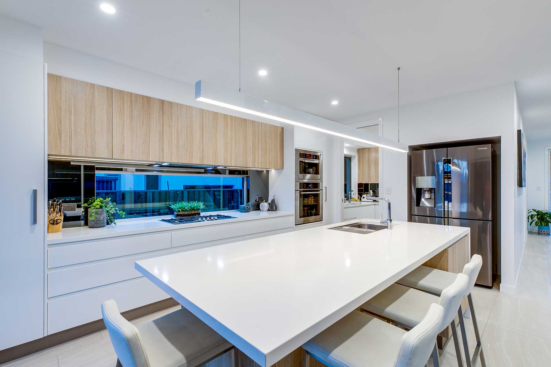 Custom Architectural Home - Kitchen