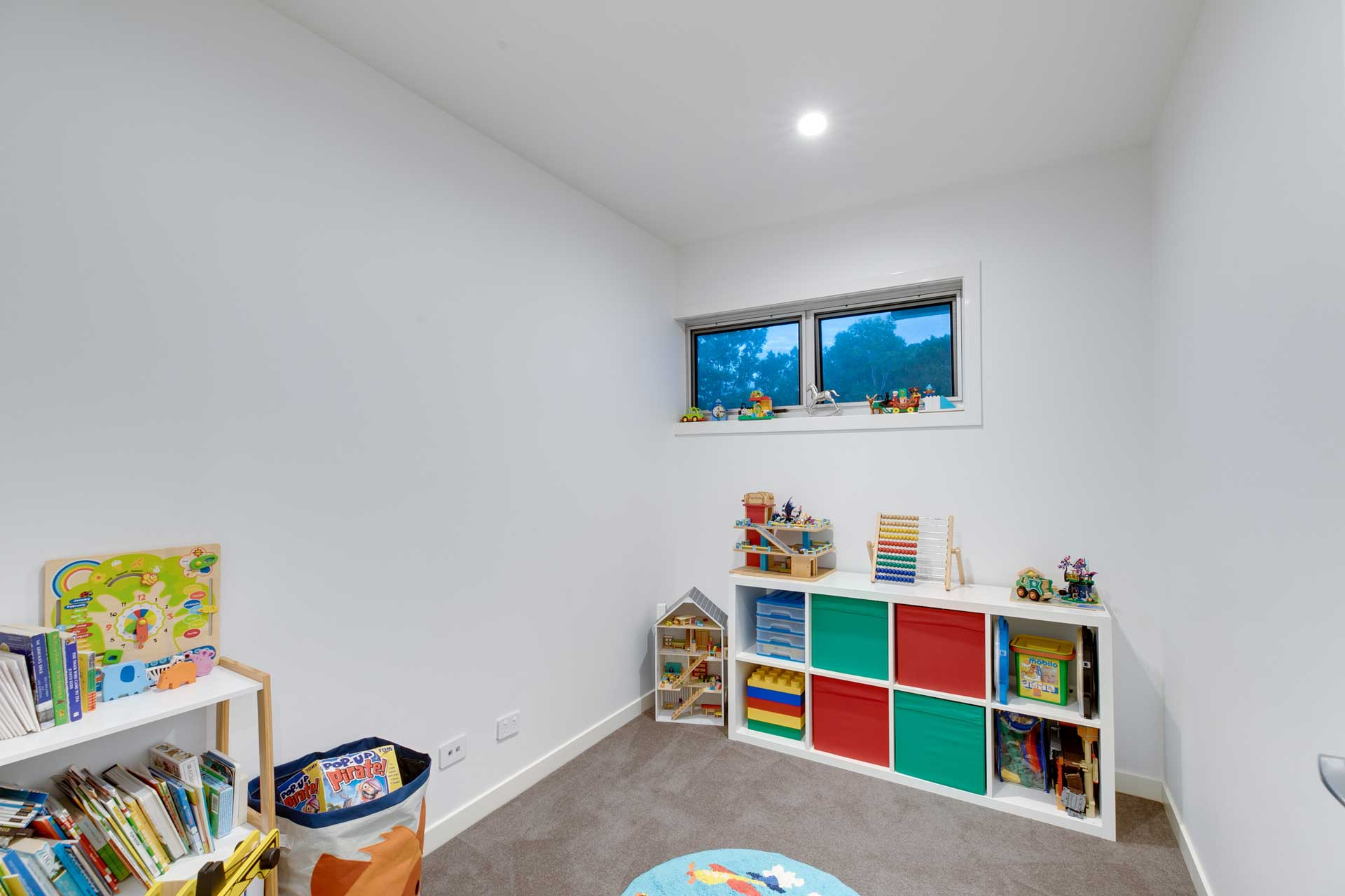 Custom Architectural Home - Playroom