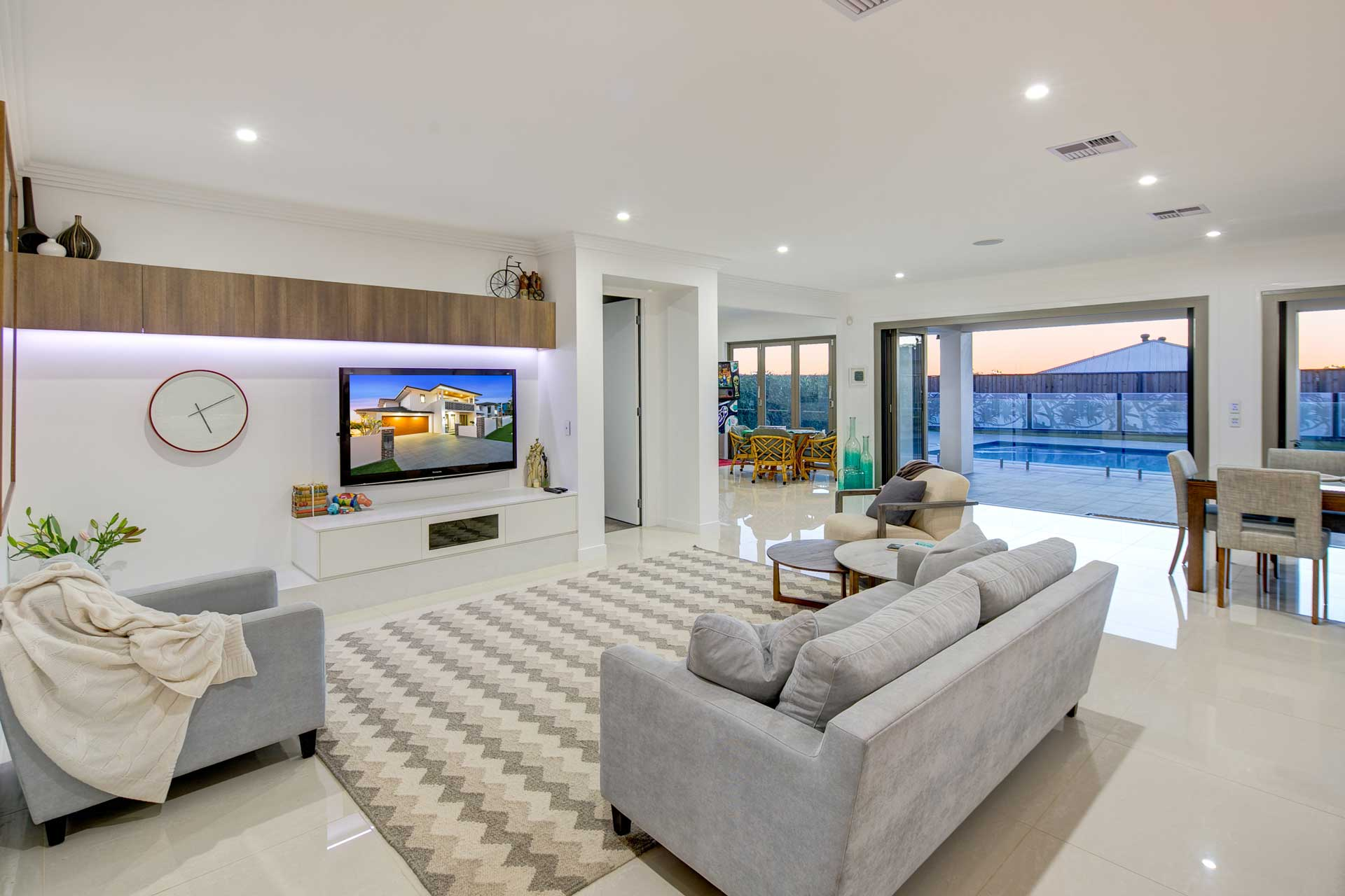 view of drake custom designed lounge
