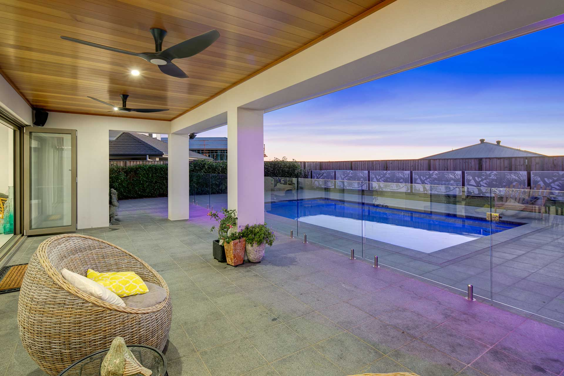 view of drake custom designed outdoor and pool