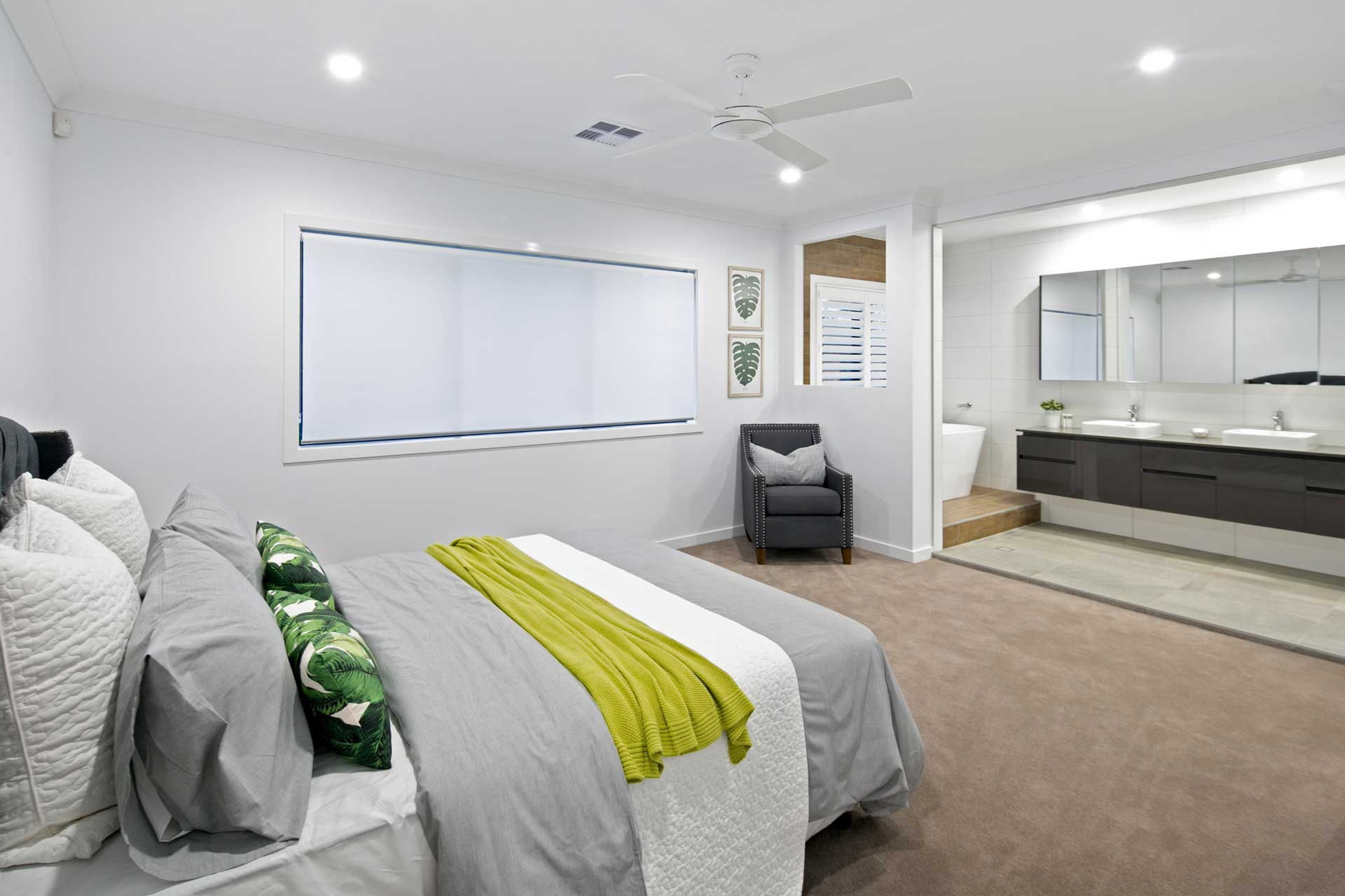Liberty Contemporary - Master Bedroom