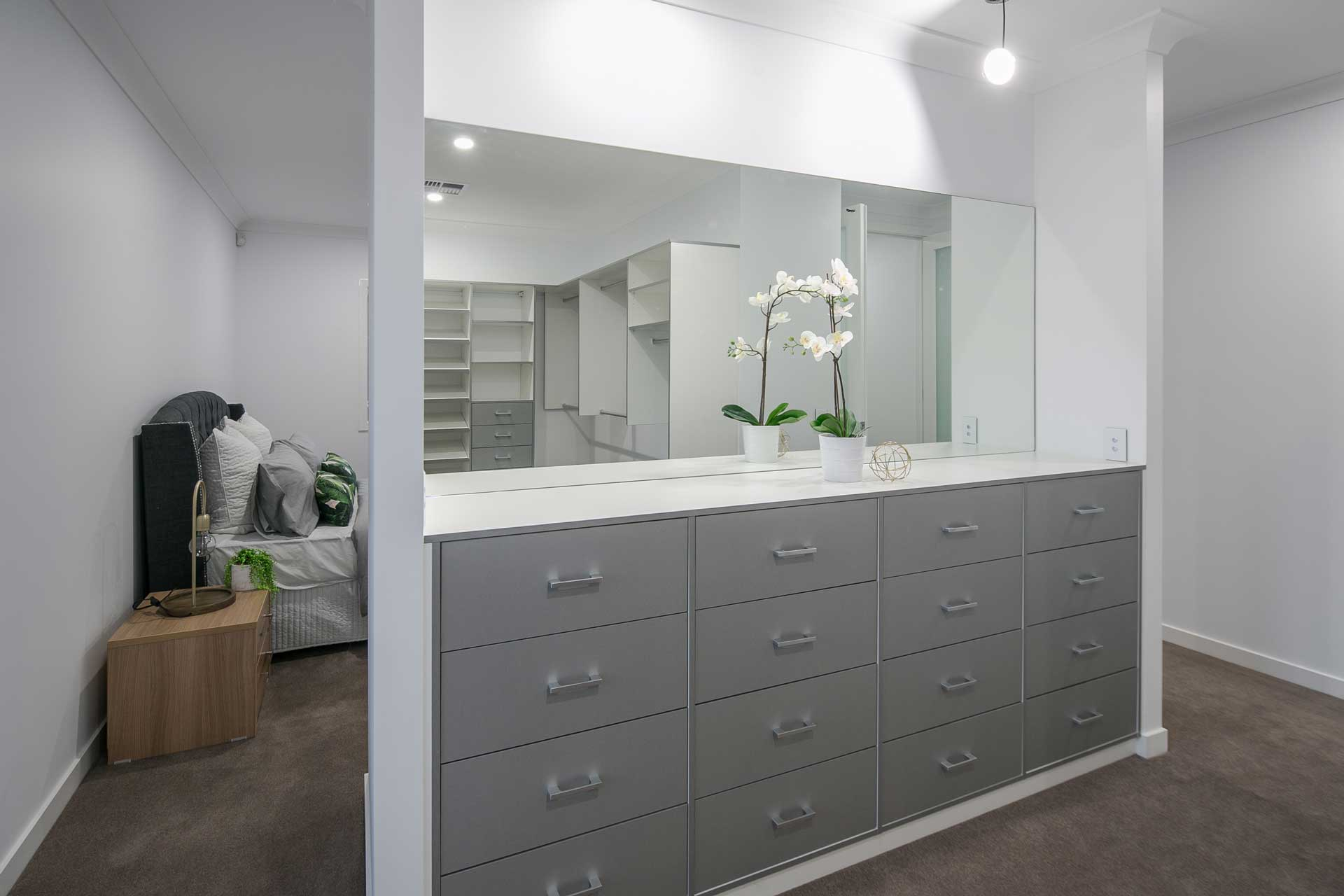 Liberty Contemporary - Walk-in Wardrobe