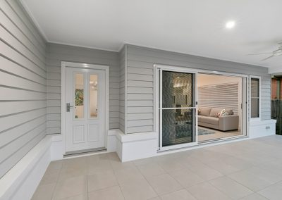 Hampton inspired porch